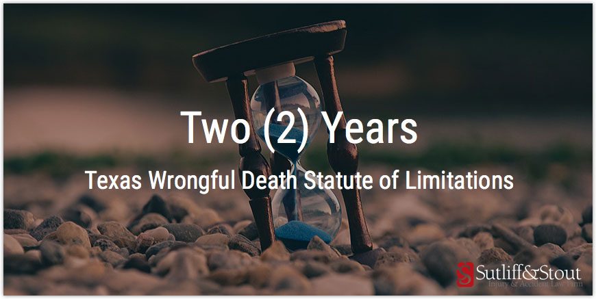 Texas Wrongful Death Statute of Limitations