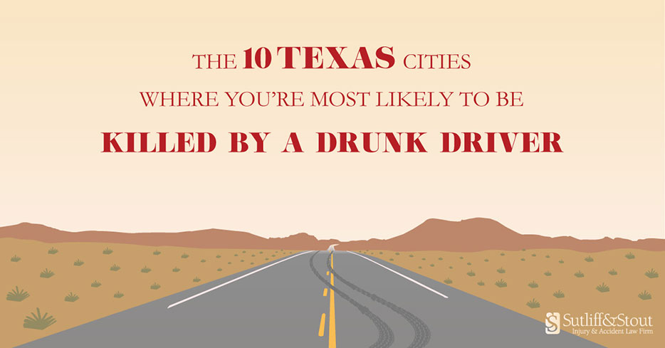RANKED] The 10 Texas Cities with the Highest Drunk Driving