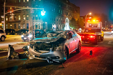Car Accidents While Driving for Work