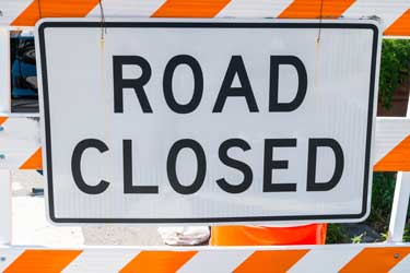 Highway 290 Closures