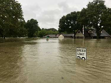 Common Flood Areas in Houston