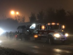 Dense Fog, Driver Dies After Crashing Into an 18-wheeler in North Houston