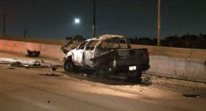 Woman-and-Child-in-Critical-Condition-after-Fiery-Crash
