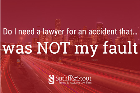 should i get a lawyer for a car accident that wasn't my fault