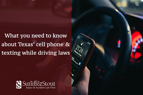 Texas Cell Phone & Texting While Driving Laws