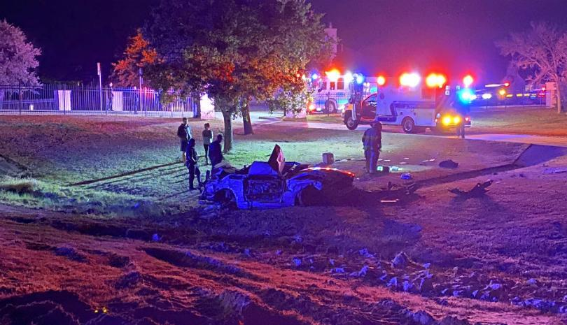 Four Injured after One-Vehicle Rollover in College Station