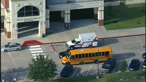 Four Students Hospitalized after School Bus Crash in Houston