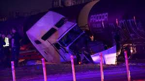 One Injured after Freight Train Slammed into Semi-Truck in Fort Worth