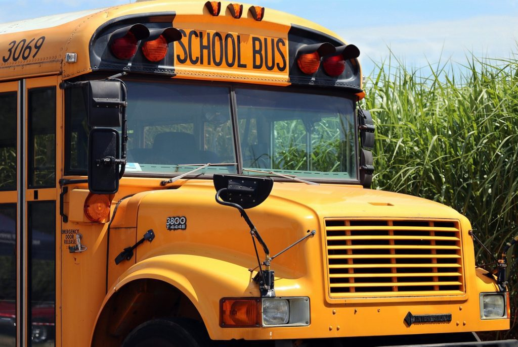 Six People Hospitalized after School Bus Collision
