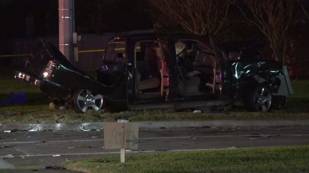 Driver Accused of 4th DWI in Fatal Crash in Harris County