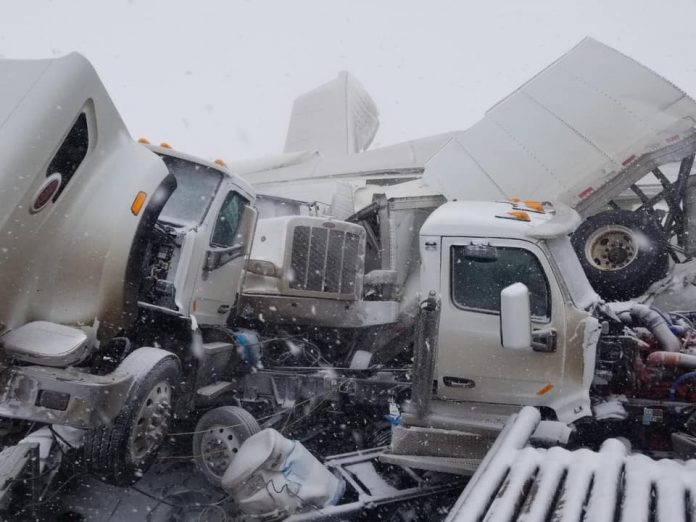 Jackknifed Truck Accident Causes Fatal Pileup on Interstate 80 in Wyoming