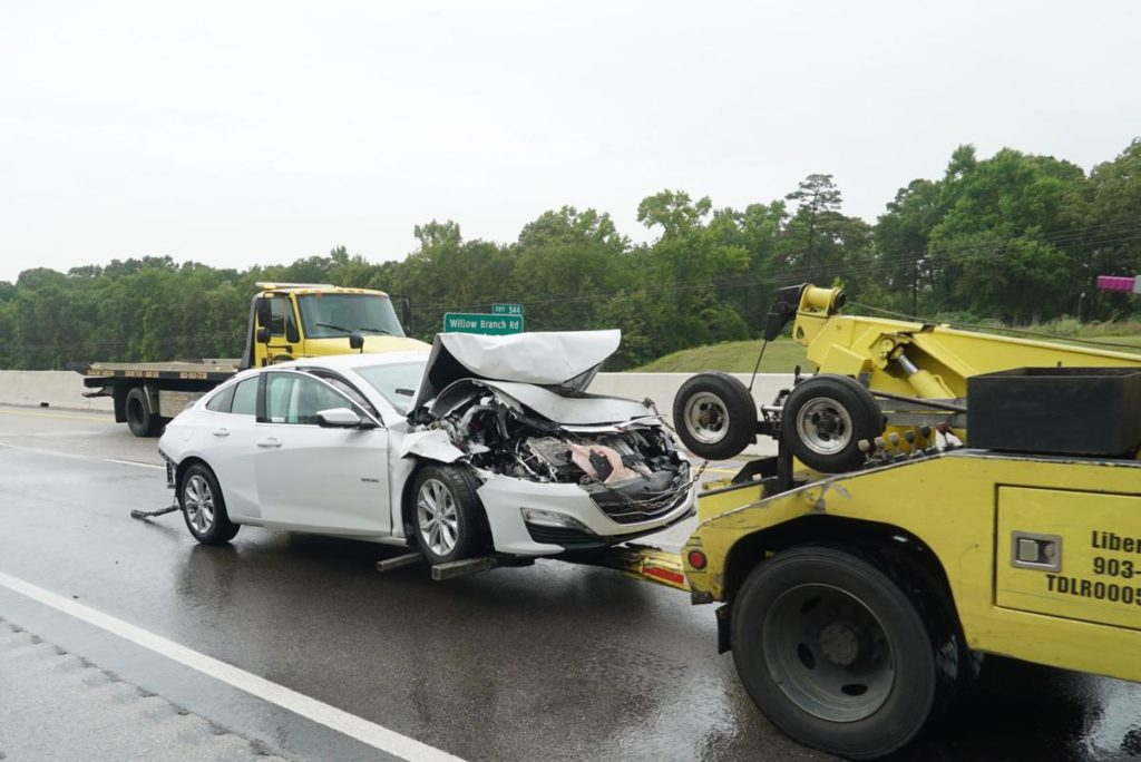 People Injured after a Multi-Vehicle Wreck Involving 11 Vehicles