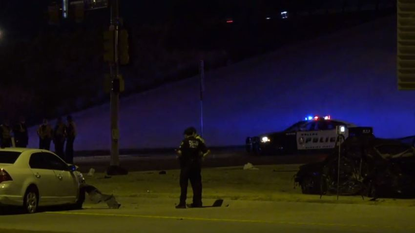 Man Killed after Wrong-Way Accident in Dallas
